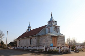 храм великомученика и целителя Пантелеимона с. Дерковщина 3
